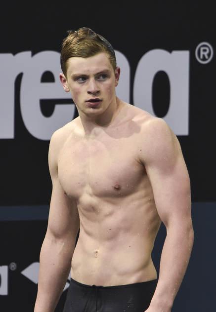 Adam Peaty övraskade alla med att sätt världsrekord på 50m bröstsim i semifinalen