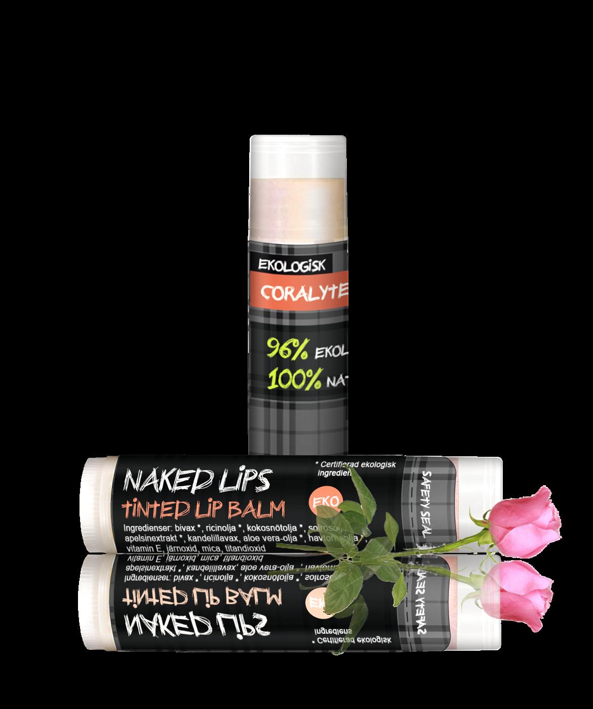 Naked Lips, Coralyte w rose April14