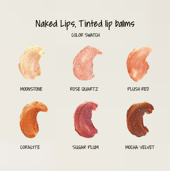 Naked Lips tinted color swatch