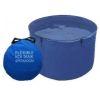 2. Flexibel inspektionsbalja 120 cm diameter.