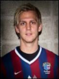 Oliver Widahl hade en fot i alla SFK:s mål.