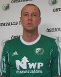 Jonas Westring byter Östavalls gröna tröja mot Essviks dito.