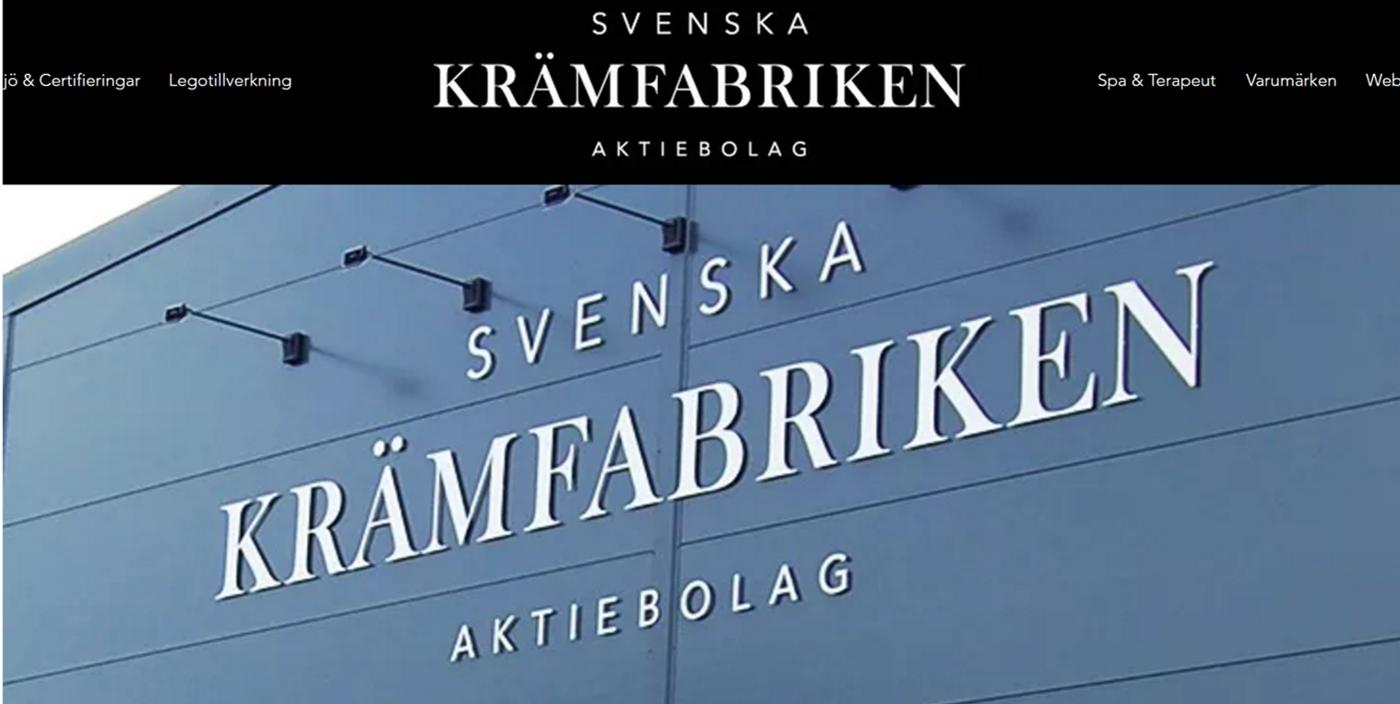 svenska krämfabriken stockholm