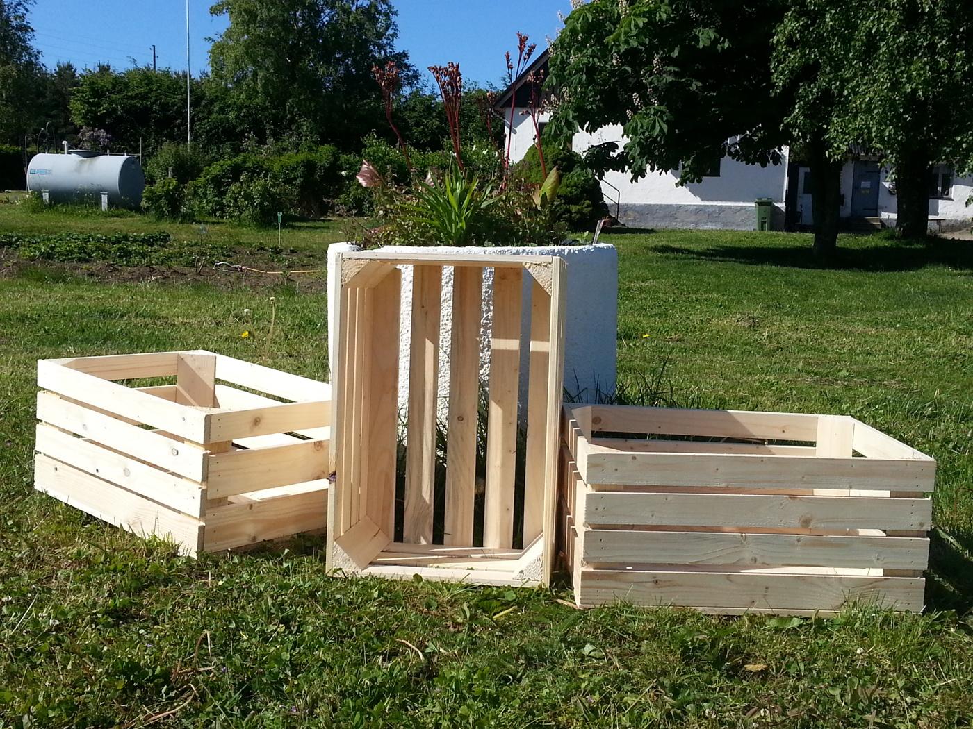 Bygga äppellåda