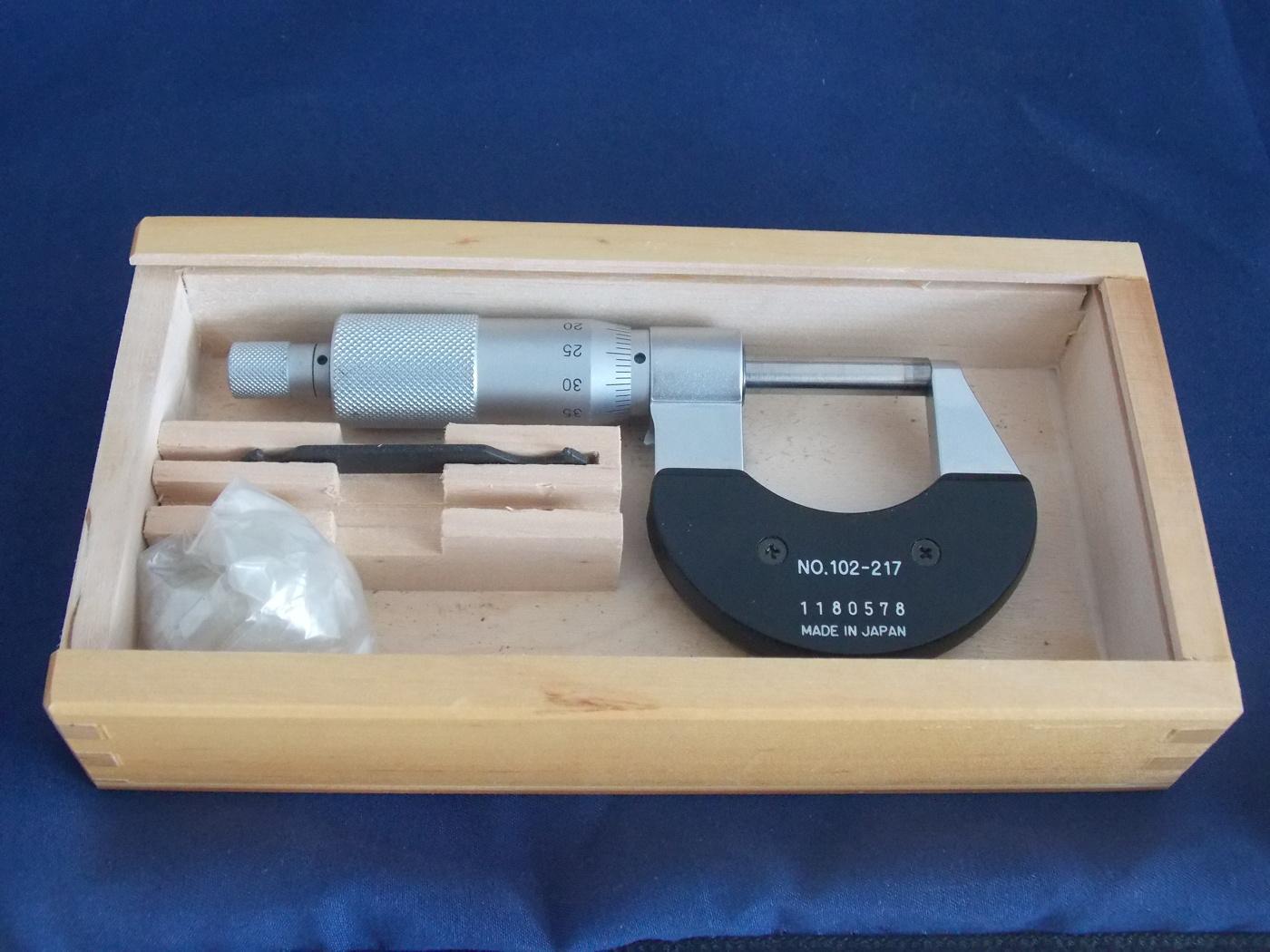Micrometer 0-25mm