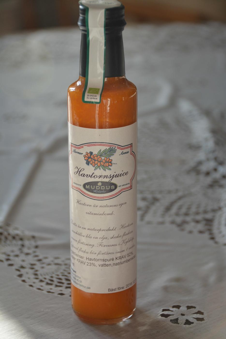 Havtornsjuice