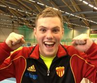 Nytt svenskt juniorrekord av Fredde