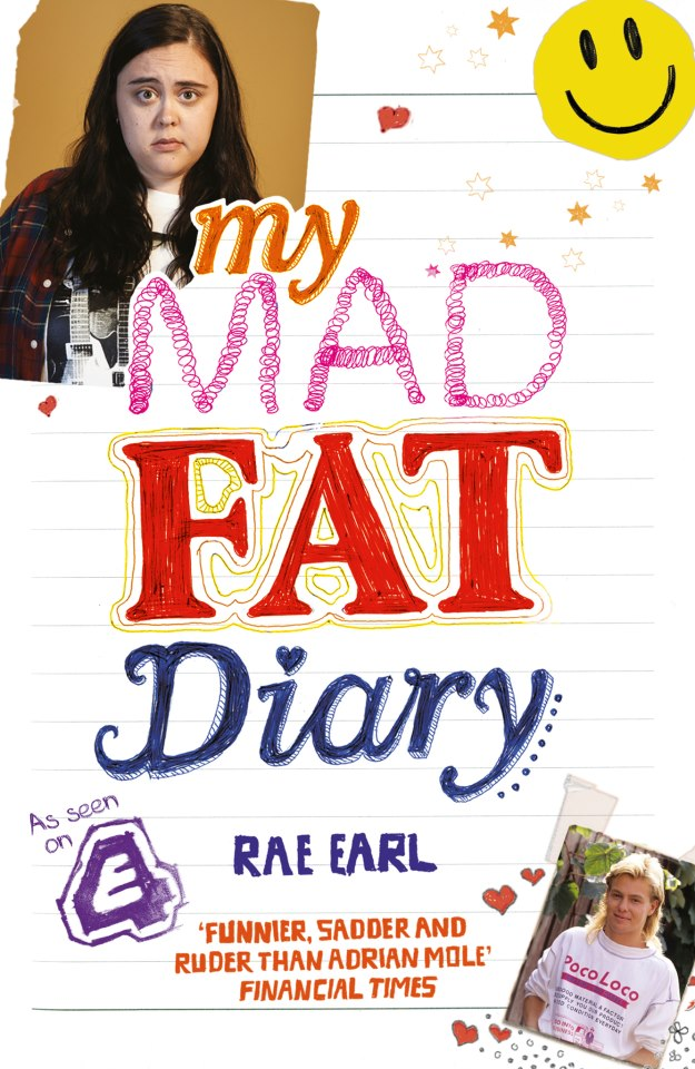 My Mad Fat Diary is based on the real-life diaries of author Rae Earl/ bild från Channel4