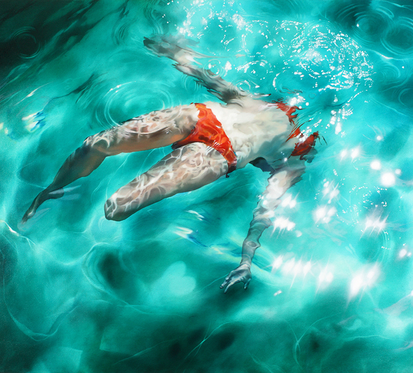 Falling pleasure 2010/ Sarah Harvey