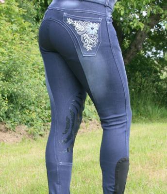 HRS jeans knäskodda