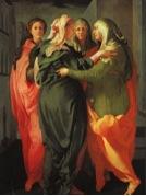 Jacopo de Pontormos, La Visitazione, 1500-tal