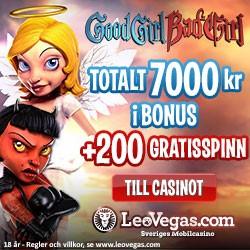 Freespins hos Leo Vegas