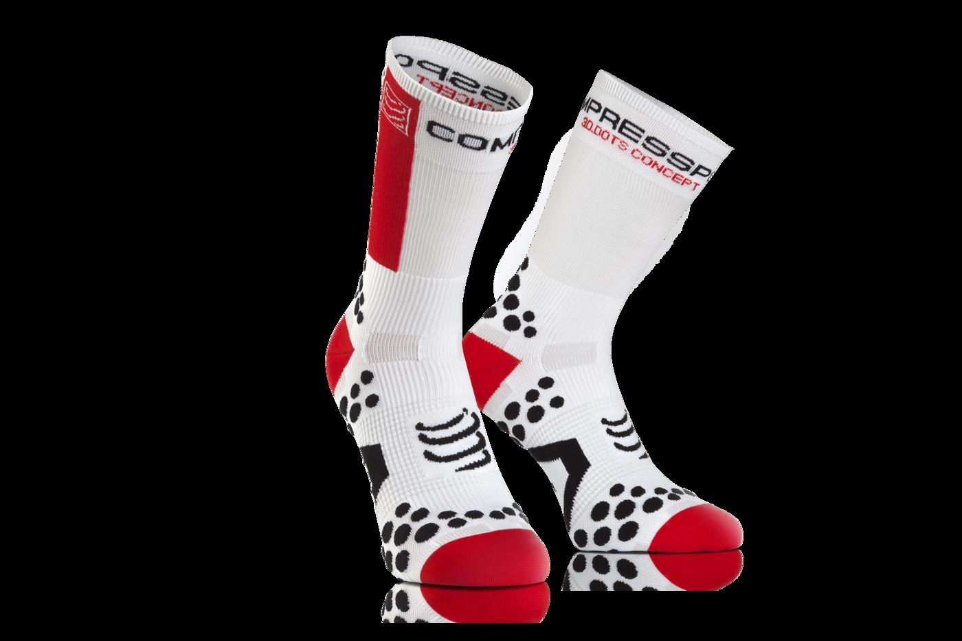 ProRacing Socks V2_1-BIKE-White-Red