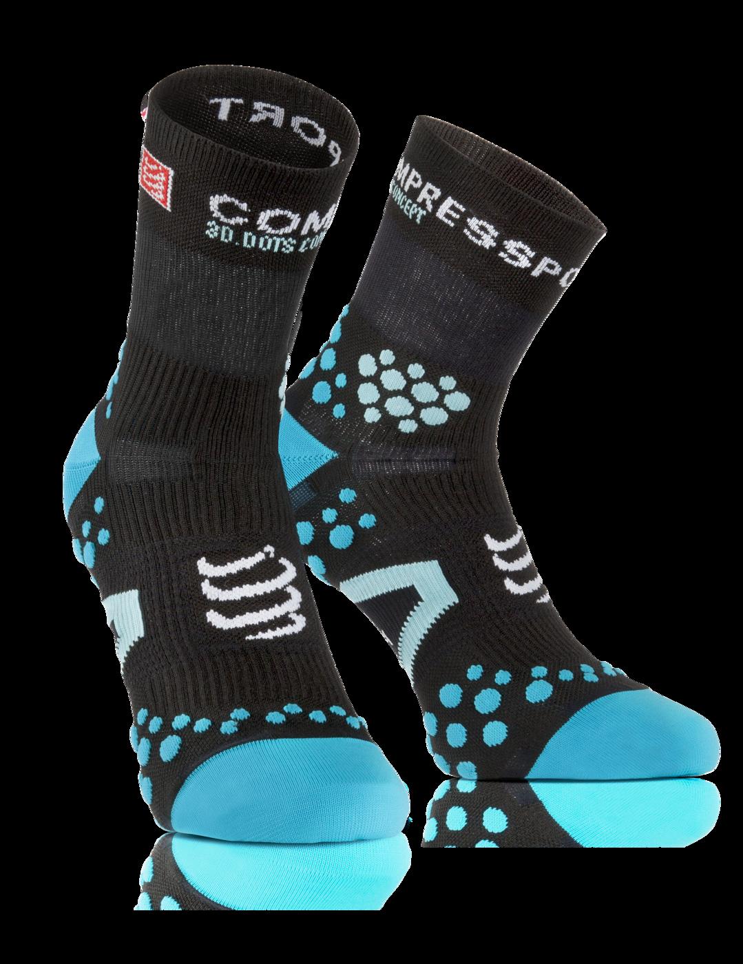 ProRacing Socks V2_1-RUN HIGH-Black-Blue