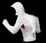 Hurricane Jacket - White - Movement Overlay