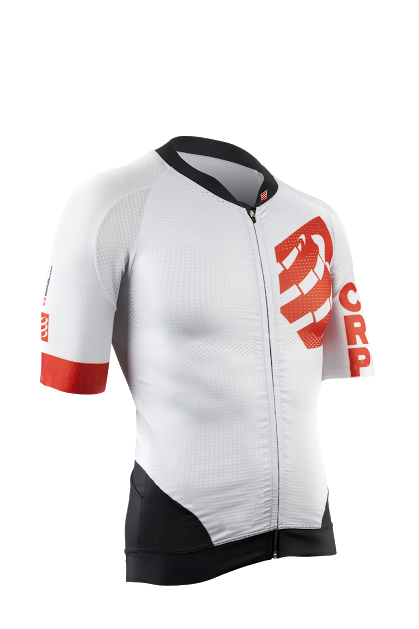 Cycling Maillot WHITE - front