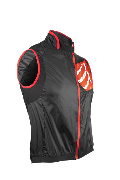 Cycling Wind Vest BLACK-front