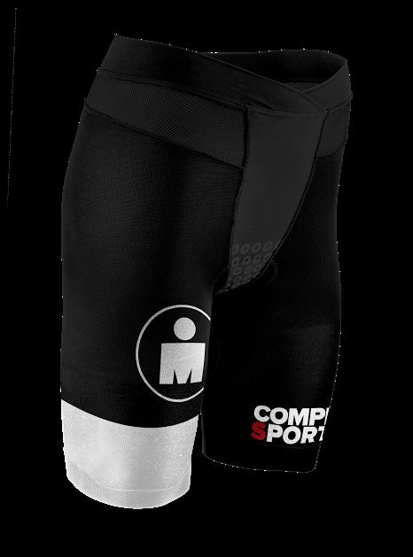 Kopia av TR3 Brutal Tri Compression Short W - Ironman Stripes BlackWhite
