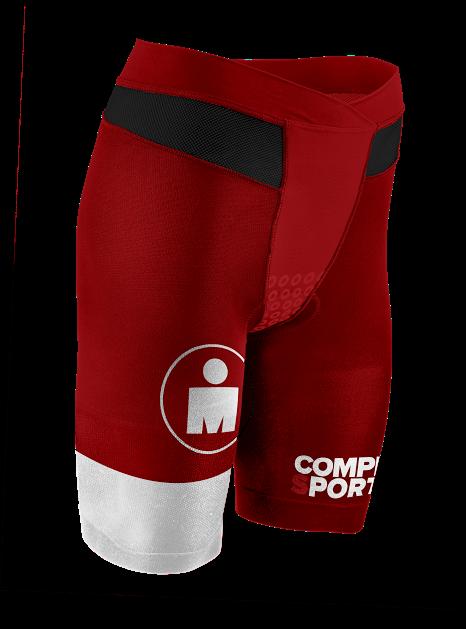 Kopia av TR3 Brutal Tri Compression Short W - Ironman Stripes RedWhite
