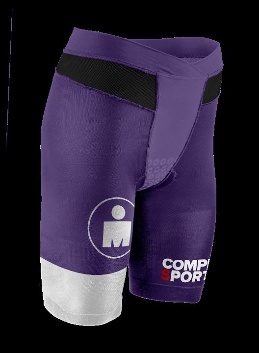 TR3 Brutal Tri Compression Short W - Ironman Stripes PurpleWhite