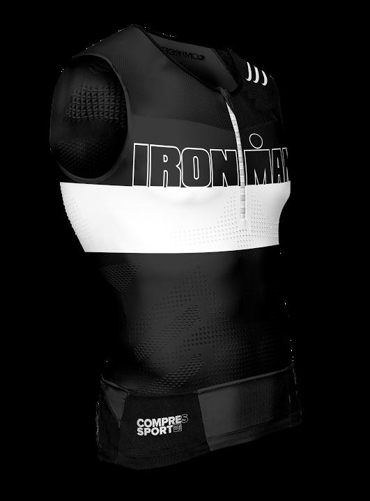 1TR3 Tank Top - Ironman Stripes Black