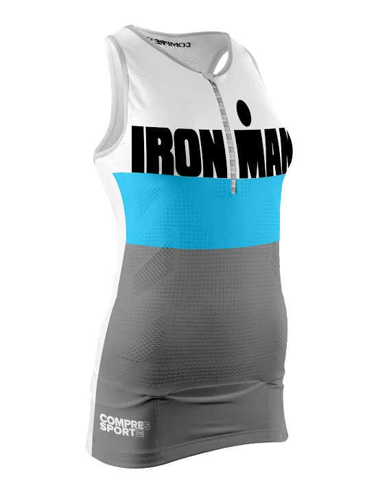 1TR3 Tank Top W - Ironman Stripes Grey