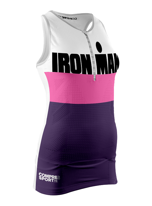 2TR3 Tank Top W - Ironman Stripes Purple
