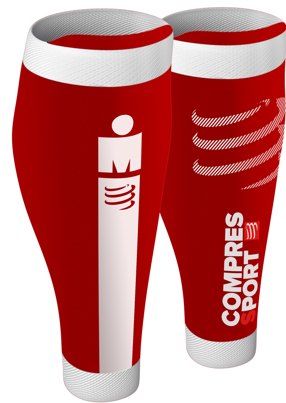 R2v2 Calf Sleeves - Ironman Smart Red
