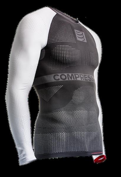 ON-OFF Multisport Shirt - LS - Grey-White