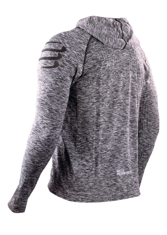 3D Thermo Hoodie Seamless - back 3-4 kopia