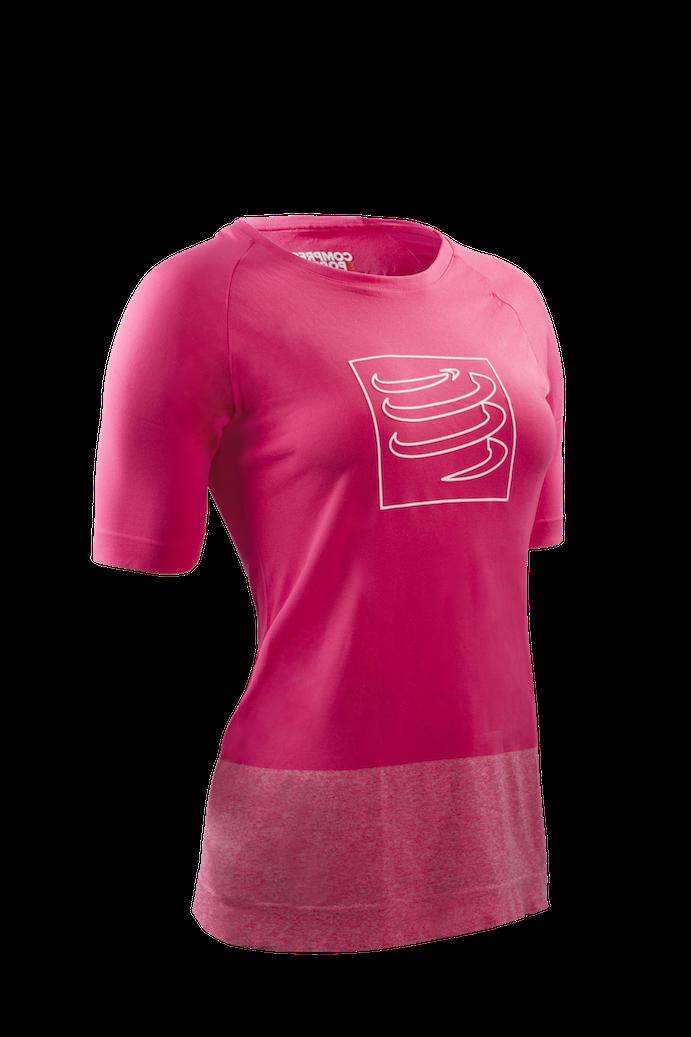Training Tshirt Woman Pink 3-4
