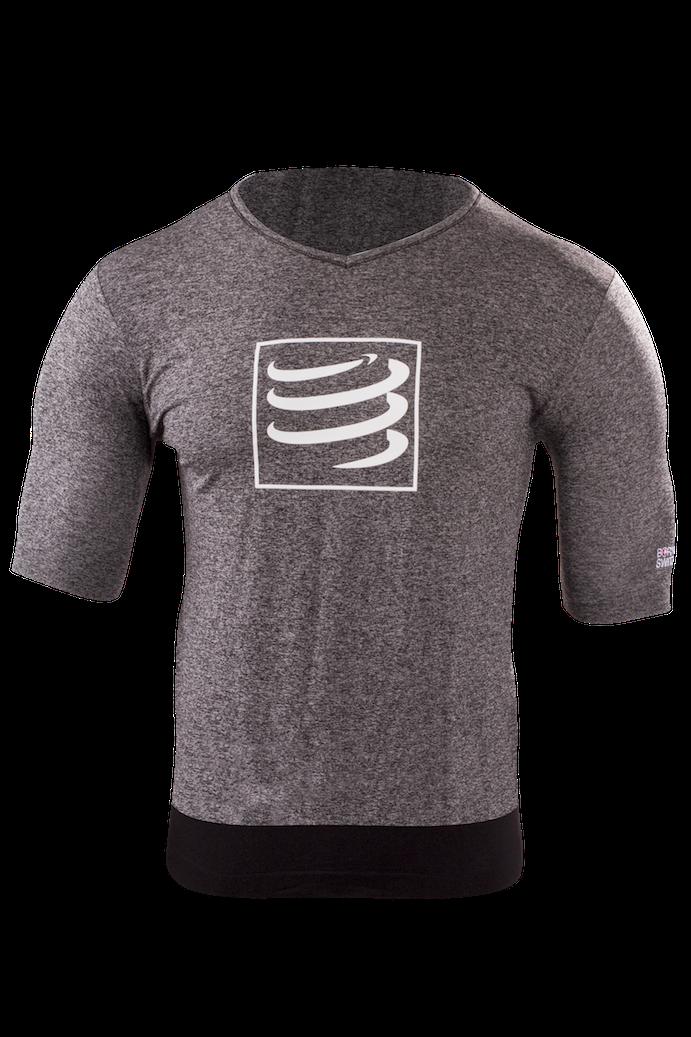 Training Tshirt Grey Melange2 kopia
