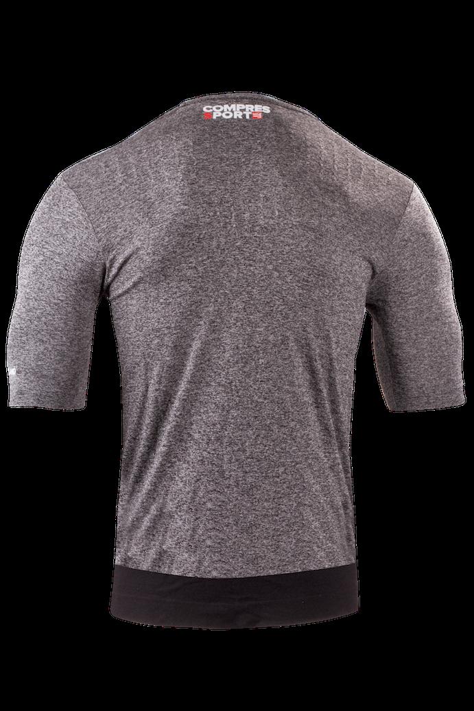 Training Tshirt Grey Melange4 kopia