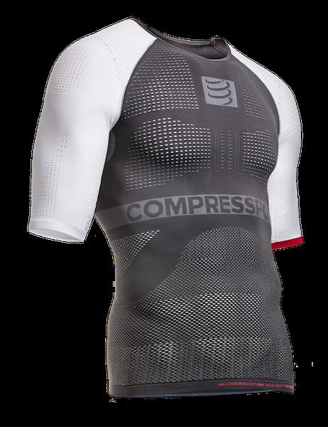 ON-OFF Multisport Shirt - SS - Grey-White