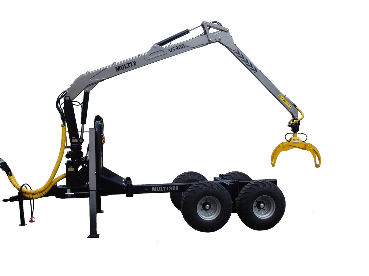 Knuckle Boom Cranes Manufacturers : Multiforest knuckle boom cranes