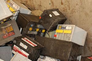 Sälja gamla bilbatterier
