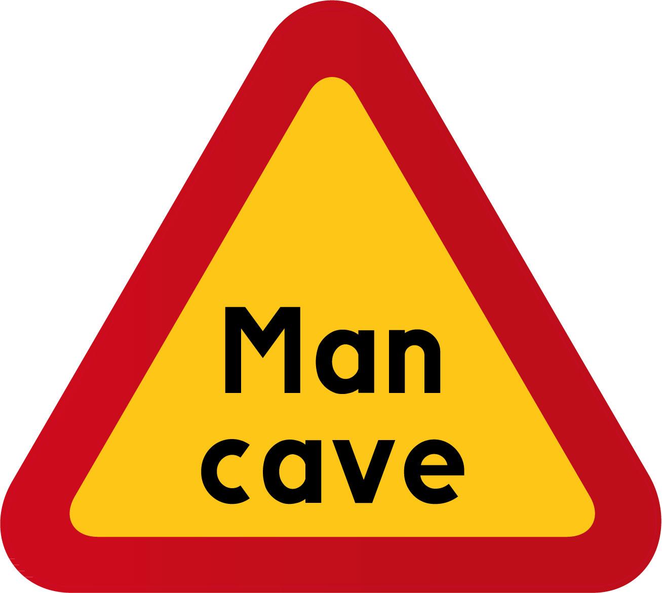 Man Cave Store Greensburg Pa : Quot man cave happy print