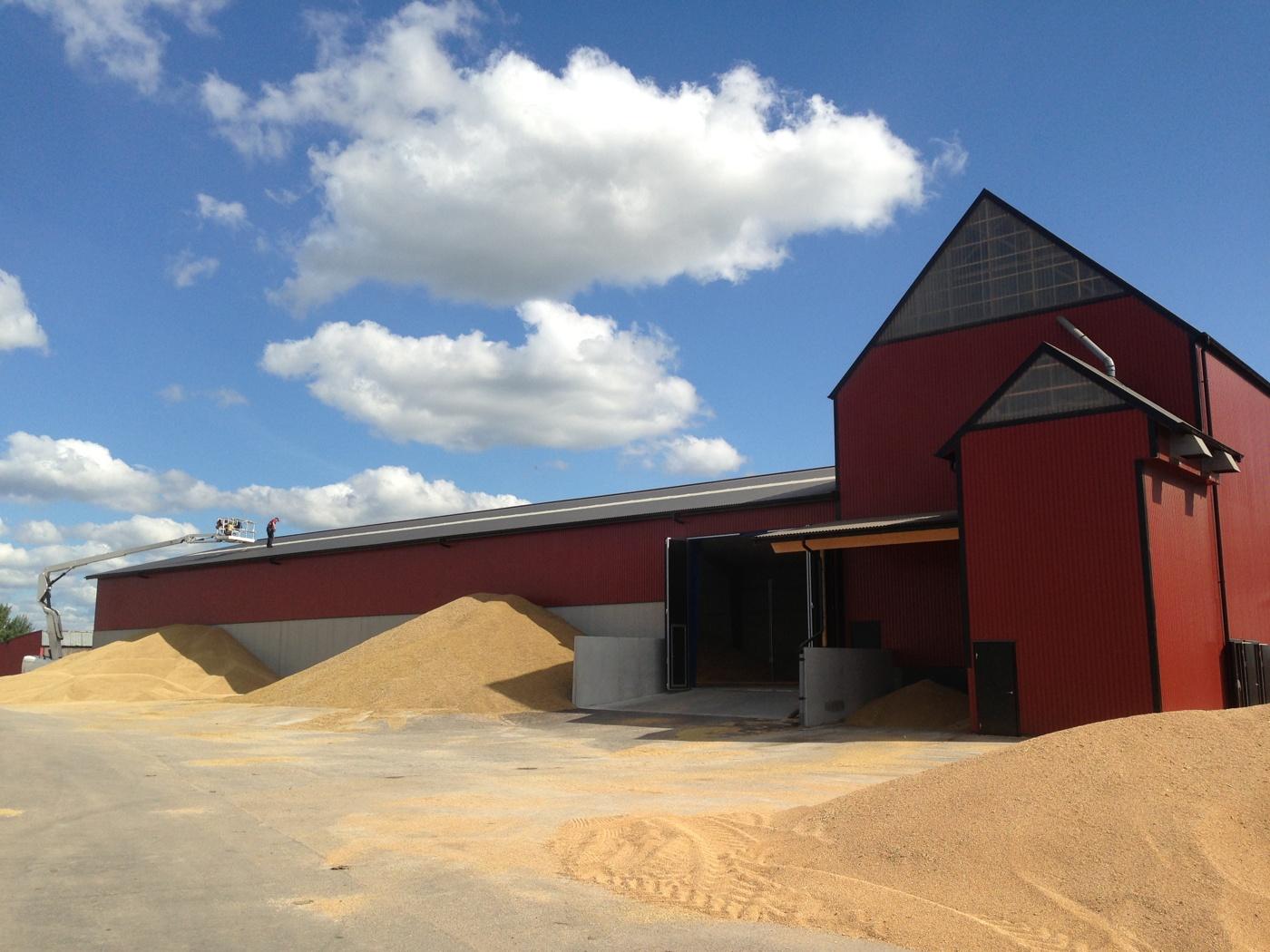 Vi bygger lagerhallar & stålhallar, kb bygg ab halmstad, halland