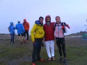 Tre profiler: Kilian Jornet, Atma Singh och konditionsbloggaren. Foto: Dennis Brännmyr