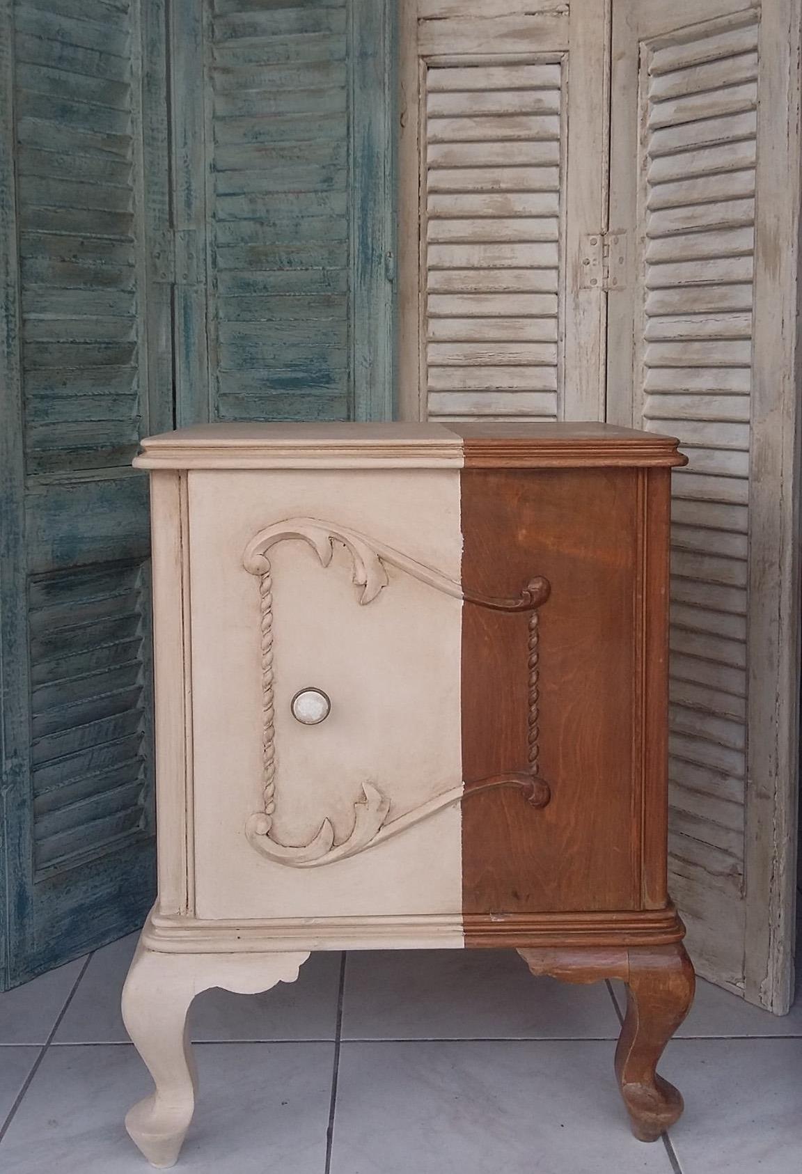Måla möbler med kalkfärg, autentico vintage chalk paint