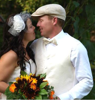 Linnea och Sverker hade ett äkta Do-It-Yourself bröllop