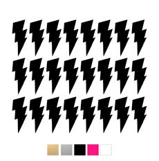 Wall stickers - Små blixtar - Svart