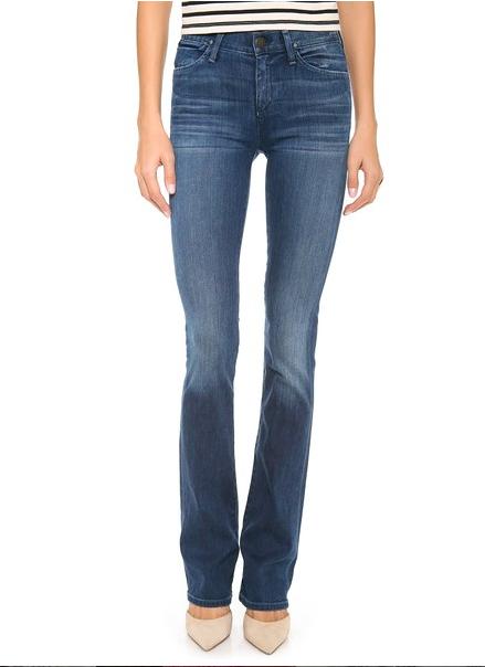 Goldsign Quinn Slim Bootcut Jeans