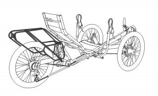 Azub bagagehållare för TRIcon - TRIcon Standard bagagehållare