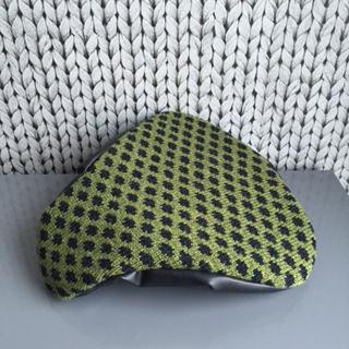 grön/svart prick