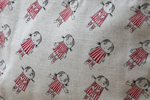 Anna förkläde i linne (vuxen)
