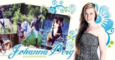 Johanna bloggar på Horseworld!