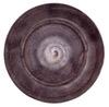 Basic platter bowl Plum