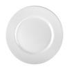 Basic Platter bowl White
