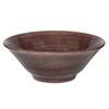 bowl flower plum